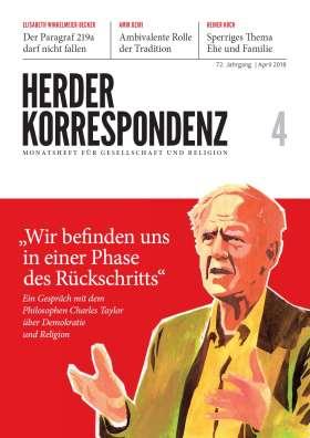 Herder Korrespondenz - 04/2018