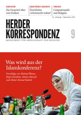 Herder Korrespondenz - 09/2018