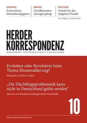 Herder Korrespondenz - 10/2015