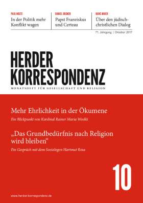 Herder Korrespondenz - 10/2017
