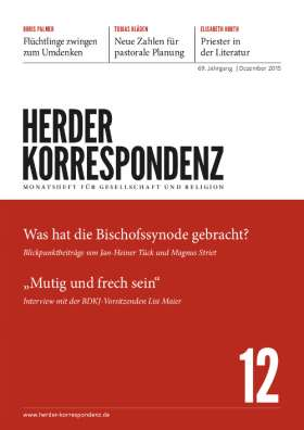 Herder Korrespondenz - 12/2015