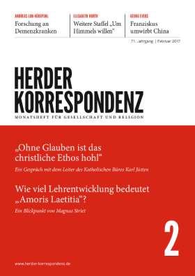Herder Korrespondenz - 2/2017