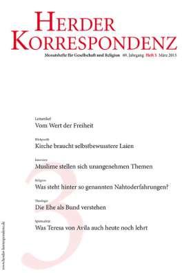 Herder Korrespondenz - 3/2015