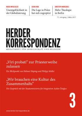 Herder Korrespondenz - 3/2017