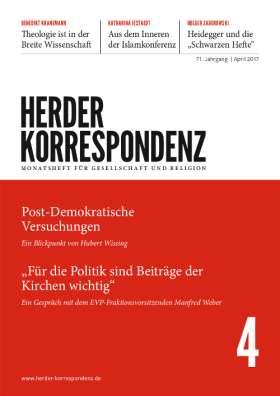 Herder Korrespondenz - 4/2017