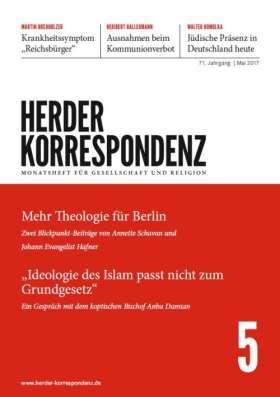 Herder Korrespondenz - 5/2017