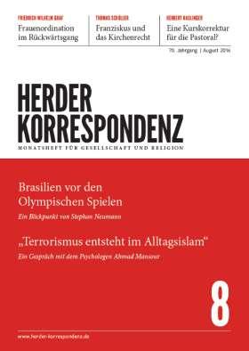 Herder Korrespondenz - 8/2016