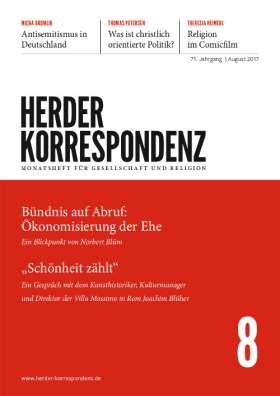 Herder Korrespondenz - 8/2017