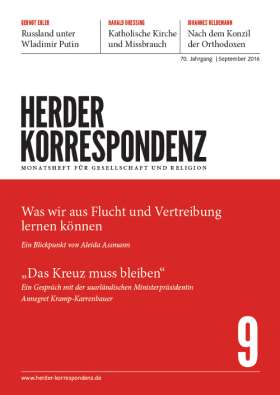 Herder Korrespondenz - 9/2016