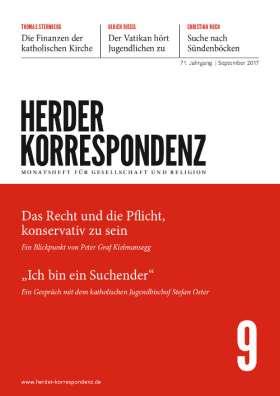 Herder Korrespondenz - 9/2017