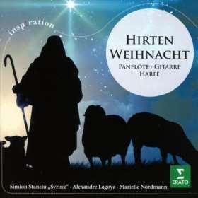 Hirtenweihnacht. Panflöte, Gitarre, Harfe