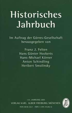 Historisches Jahrbuch. 125. Jahrgang 2005