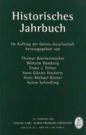 Historisches Jahrbuch. 129. Jahrgang 2009