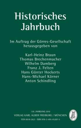 Historisches Jahrbuch. 130. Jahrgang 2010