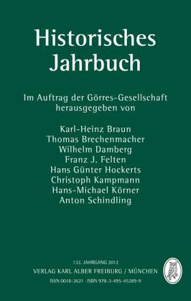 Historisches Jahrbuch. 132. Jahrgang 2012