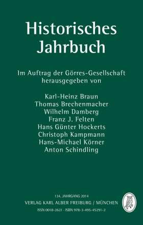 Historisches Jahrbuch. 134. Jahrgang 2014