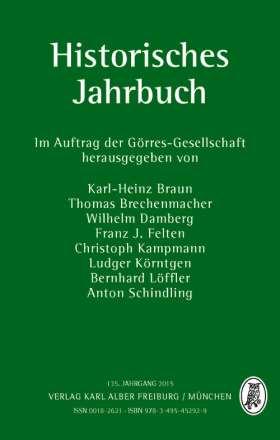 Historisches Jahrbuch. 135. Jahrgang 2015