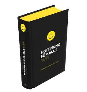 """Hoffnung für alle. Die Bibel - """"Black Hope Edition"""" . Die Bibel, die deine Sprache spricht"""