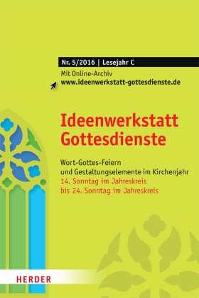 Ideenwerkstatt Gottesdienste - 5/2016