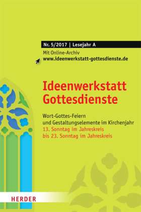 Ideenwerkstatt Gottesdienste - 5/2017