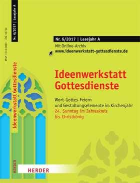 Ideenwerkstatt Gottesdienste - 6/2017