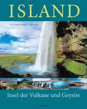 Island . Insel der Vulkane und Geysire