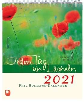 Jeden Tag ein Lächeln 2021. Phil Bosmans-Kalender