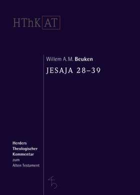 Jesaja 28-39. Übersetzung aus dem Niederländischen von Andrea Spans
