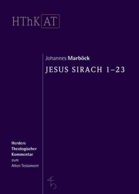 Jesus Sirach 1-23
