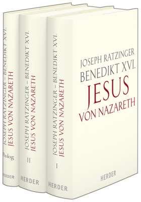 Jesus von Nazareth. 3 Bde., Ausgabe gebunden mit Schutzumschlag