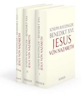 Jesus von Nazareth. 3 Bde., Ausgabe in Leinen gebunden, jeder Band mit Schmuckschuber