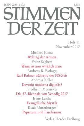 Karl Rahner während der NS-Zeit. Vergessene Fakten einer Wissenschaftsbiografie