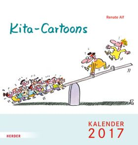 Kita-Cartoons. Kalender 2017