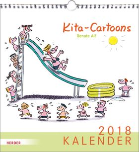 Kita Cartoons. Kalender 2018
