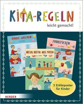 Kita-Regeln leicht gemacht. 5 Erklärposter für Kinder