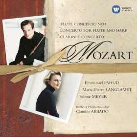 Klarinettenkonzert / Konzert für Flöte und Harfe
