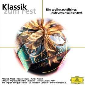 Klassik zum Fest. Ein weihnachtliches Instrumentalkonzert