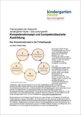 Kompetenzkonzept und kompetenzbasierte Ausbildung