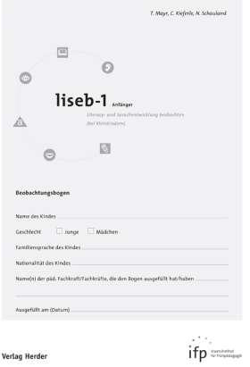 liseb-1 Anfänger. Literacy- und Sprachentwicklung beobachten (bei Kleinkindern)