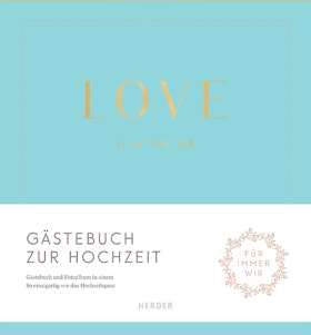 Love is in the air. Gästebuch zur Hochzeit