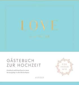 """""""Love is in the air"""" Gästebuch zur Hochzeit"""