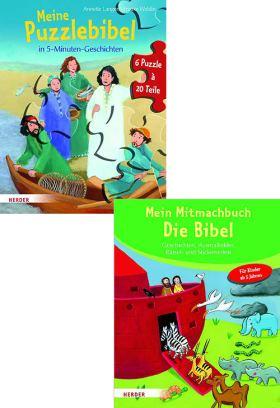 Mein Mitmachbuch Die Bibel - Meine Puzzlebibel