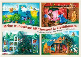 Meine wunderbare Märchenwelt in Erzählbildern. Kniebuchgeschichten zum Mitmachen und Erzählen