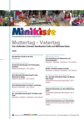 Minikiste: Muttertag - Vatertag