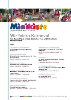 Minikiste: Wir feiern Karneval