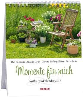 Momente für mich . Postkartenkalender 2017
