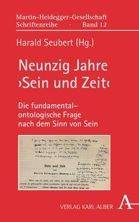 Neunzig Jahre ›Sein und Zeit‹ Book Cover