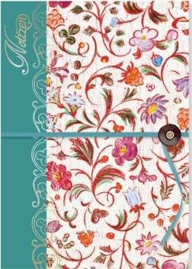 Notizbuch Blumen. Bibliophila