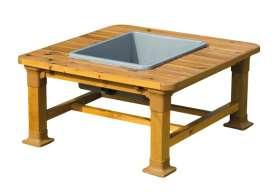Outdoor Sand- und Wassertisch, quadratisch