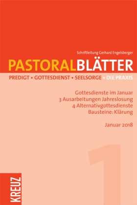 Pastoralblätter - 1/2018